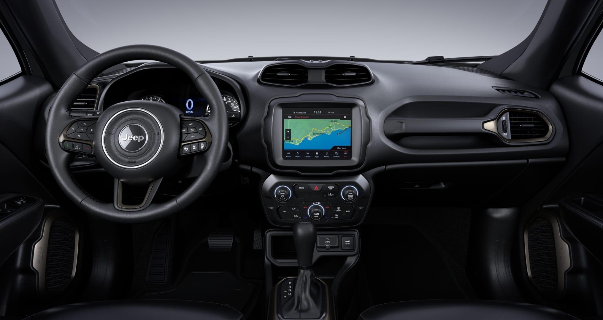 Jeep Renegade S Sting Grey - dashboard