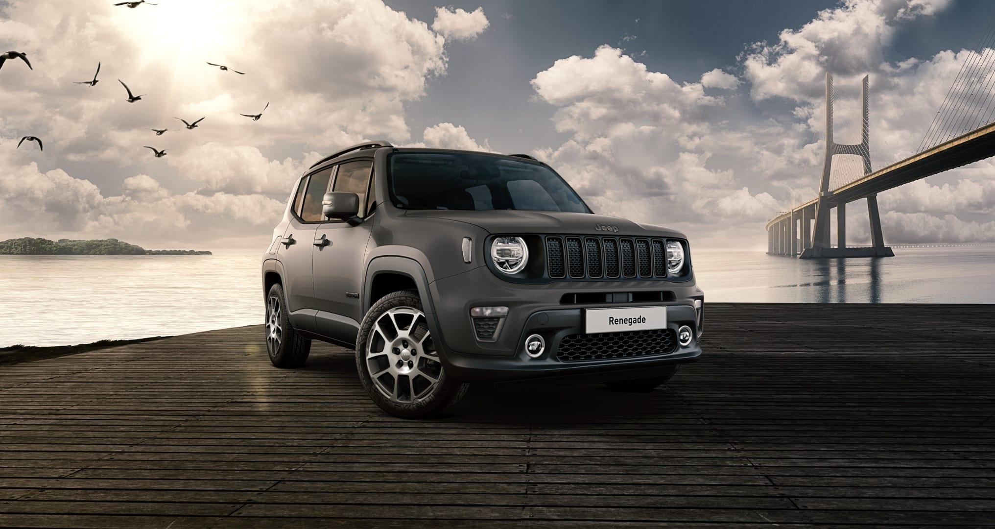 Jeep Renegade S Sting Grey - voorkant