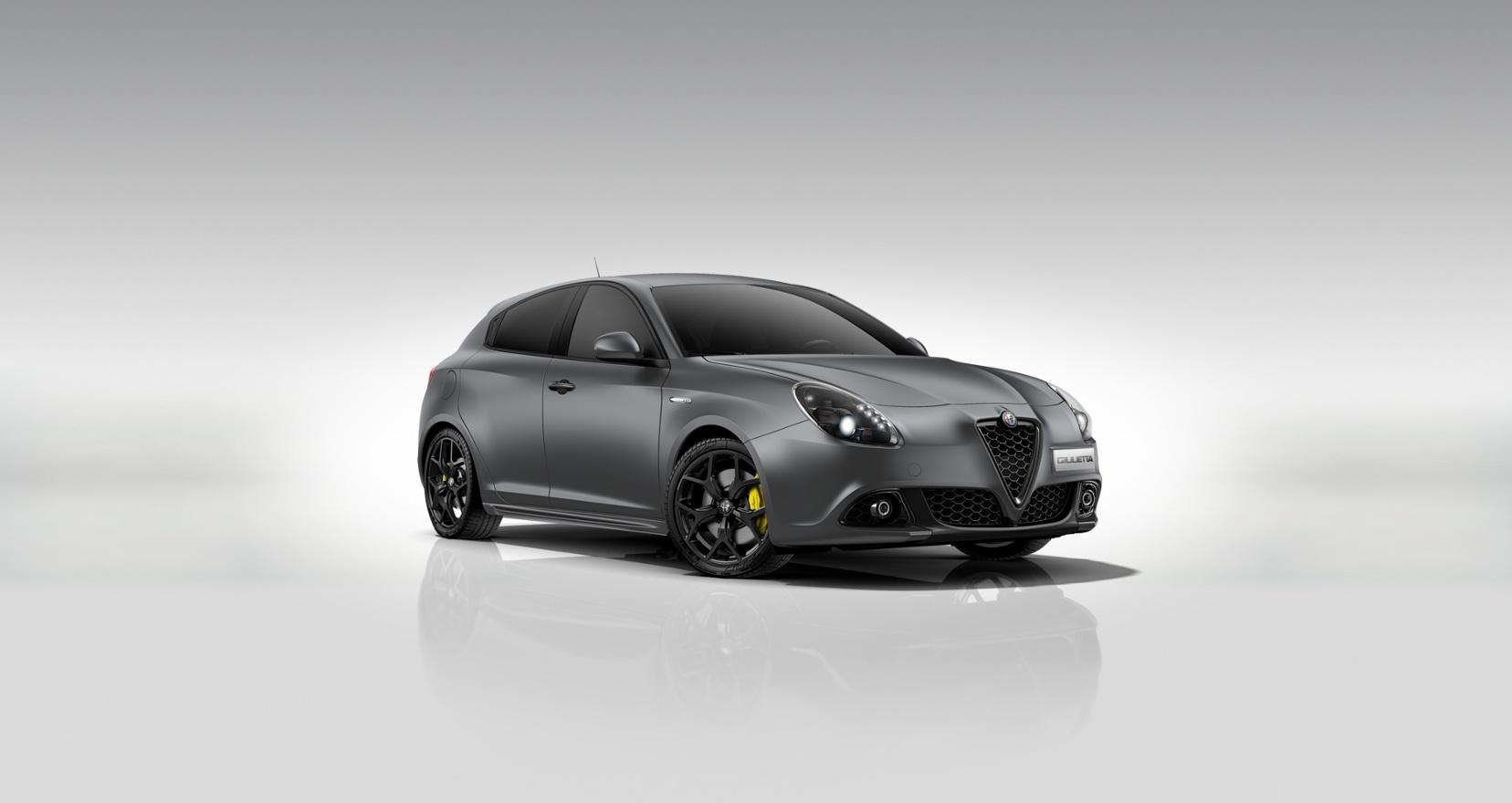 Alfa Romeo Giulietta Sprint Matgrijs - Schuin vooraanzicht