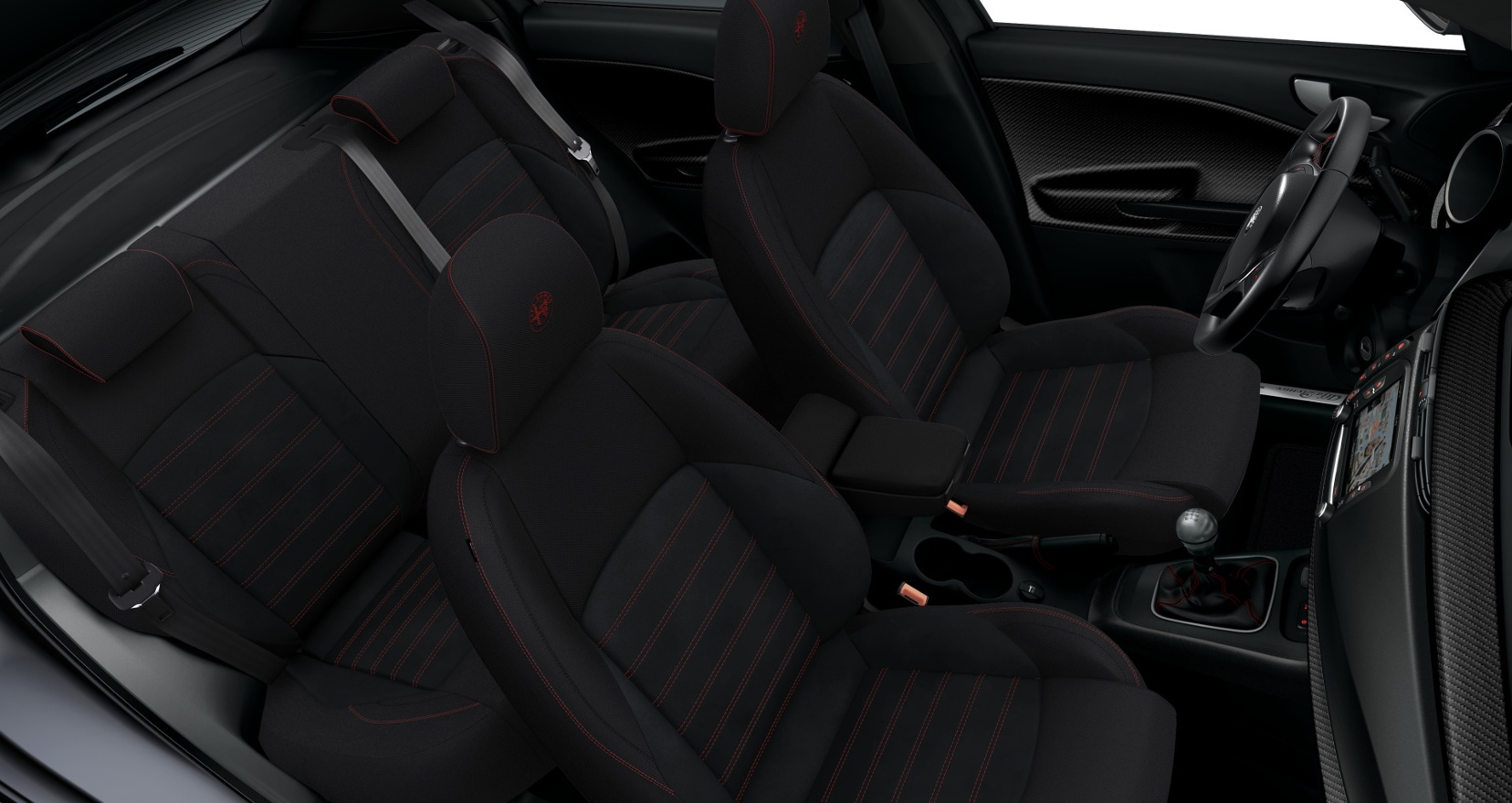 Alfa Romeo Giulietta Sprint - interieur stoelen