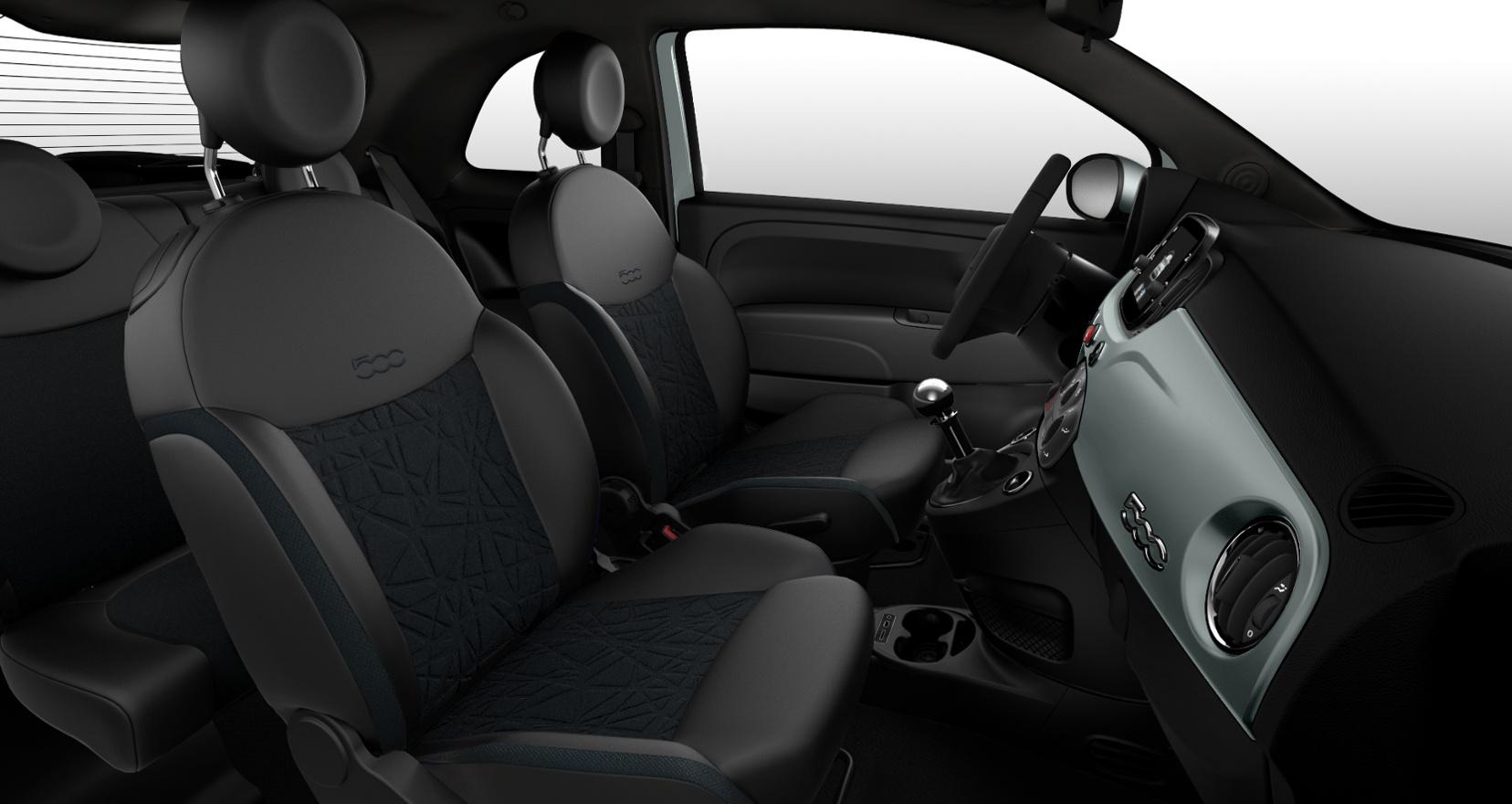 Fiat 500 hybrid launch edition - interieur