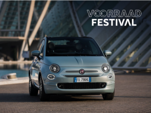 Fiat 500 hybrid launch edition - voorraad festival