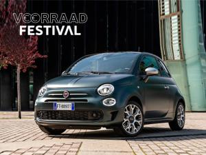Fiat 500 hybrid rockstar - voorraad festival