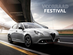 Alfa Romeo Giulietta - voorraad festival