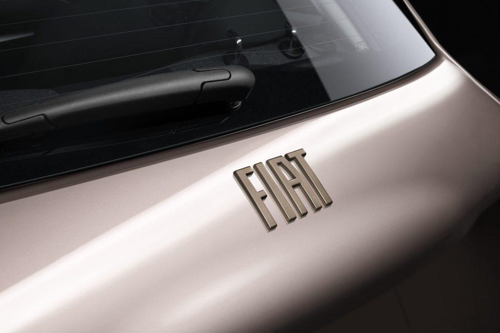 Mopar - New 500 Rear Logo Brass