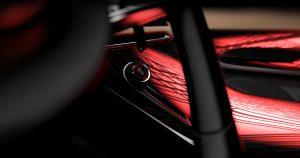 Alfa Romeo Tonale Concept - close up dna knop