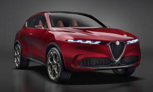 Alfa Romeo Tonale Concept - schuin voorkant 1