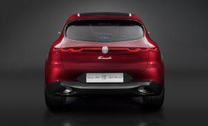 Alfa Romeo Tonale Concept - achterkant 2