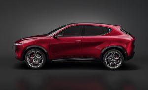 Alfa Romeo Tonale Concept - zijkant 1