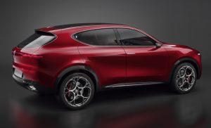 Alfa Romeo Tonale Concept - zijkant 2