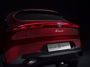 Alfa Romeo Tonale Concept - close up achterkant