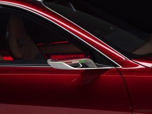 Alfa Romeo Tonale Concept - close up spiegel