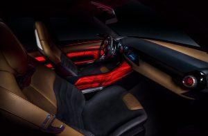 Alfa Romeo Tonale Concept - stoelen en dashboard