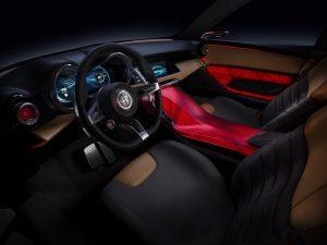 Alfa Romeo Tonale Concept - interieur bestuurderszijde 1