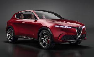 Alfa Romeo Tonale Concept - schuin voorkant 2