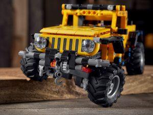 Lego Technic - Jeep Wrangler Rubicon 2