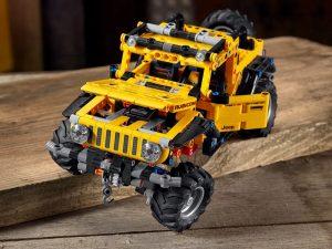 Lego Technic - Jeep Wrangler Rubicon 3