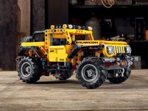 Lego Technic - Jeep Wrangler Rubicon 4