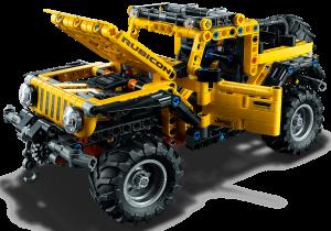 Lego Technic - Jeep Wrangler Rubicon 15