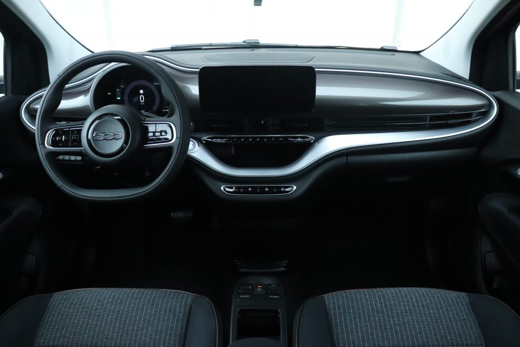 Fiat 500E Earth Grey Business Edition - interieur dashboard
