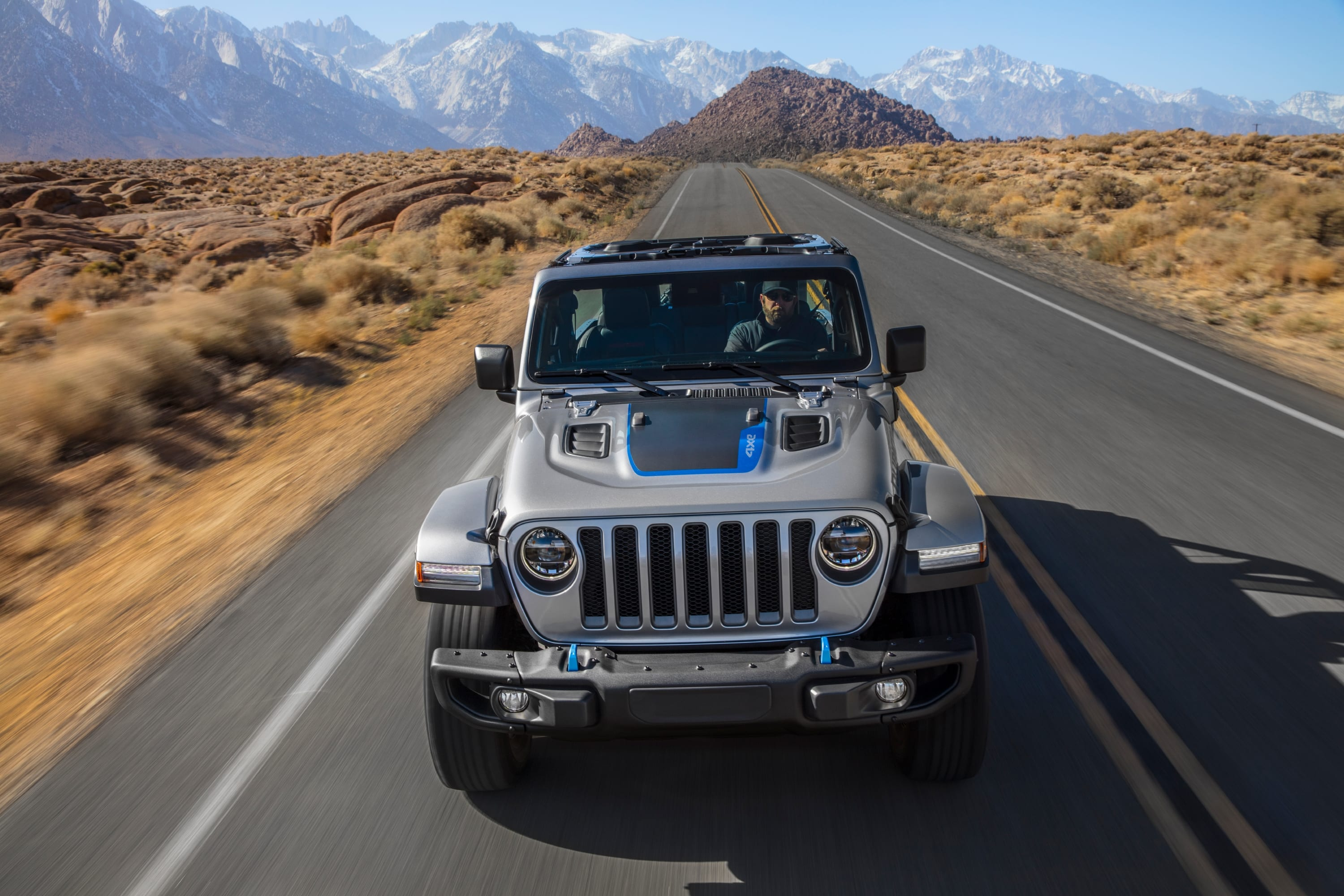 Jeep Wrangler Rubicon 4xe 2021 - voorkant