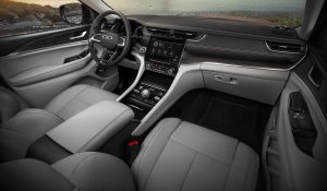All-new 2021 Jeep® Grand Cherokee L Overland interieur