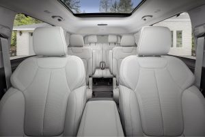 All-new 2021 Jeep® Grand Cherokee L Overland interieur stoelen