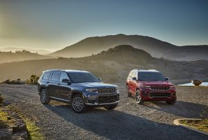 All-new 2021 Jeep Grand Cherokee L Summit Reserve (left)
