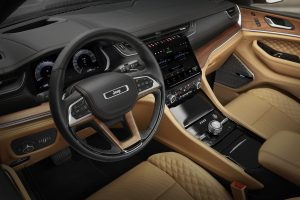 New Jeep Grand Cherokee L 2021 - interieur