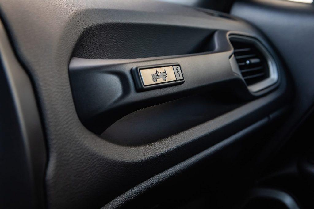 jeep renegade close up interieur detail - 80 jarige verjaardag