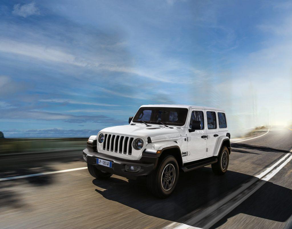 jeep wrangler - 80 jarige verjaardag