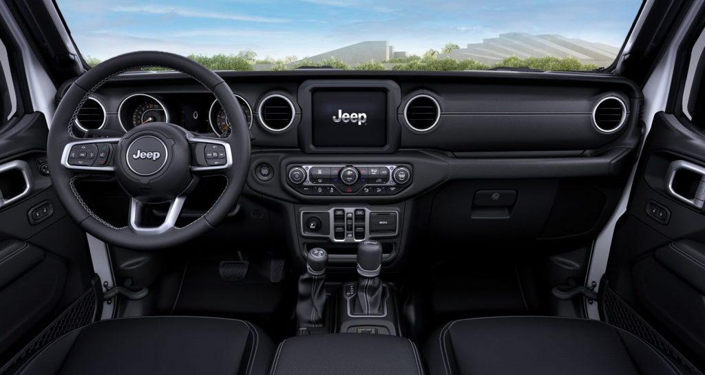 jeep wrangler interieur - 80 jarige verjaardag