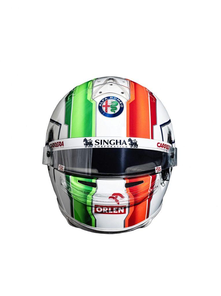 Antonio Giovinazzi - Helmet (1)
