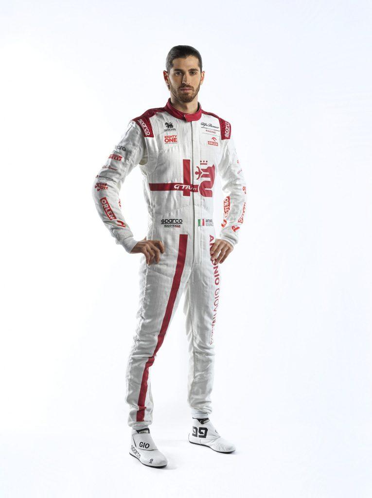Antonio Giovinazzi - Race Suit (2)
