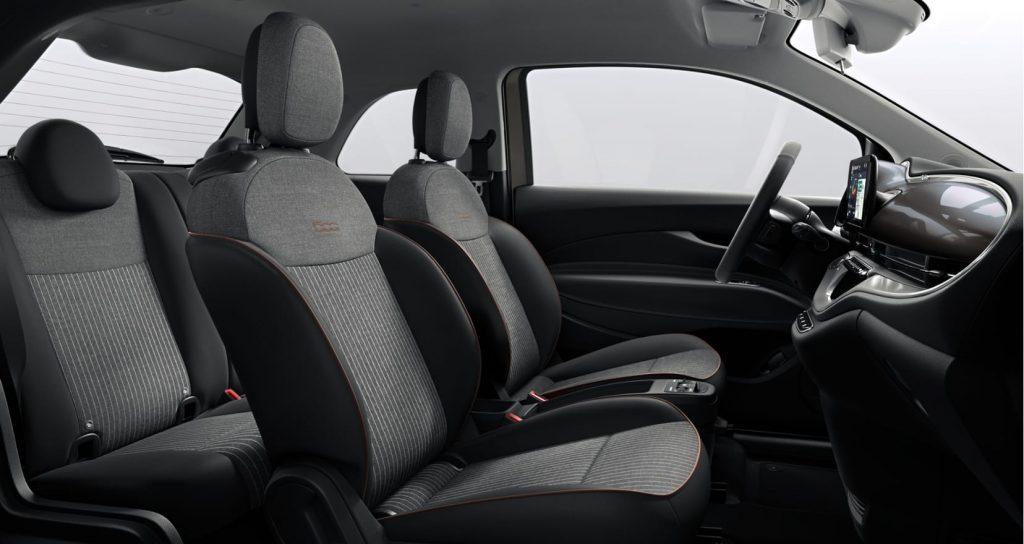 Fiat 500e earth grey - interieur 2