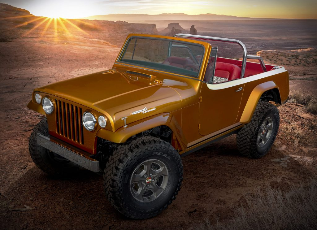 """This year's Jeep®""""Resto-Mod"""" is a throwback"""