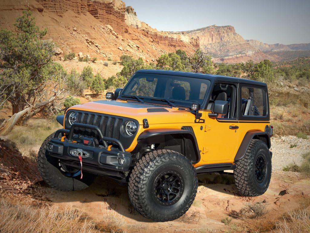 the Jeep® Orange Peelz concept