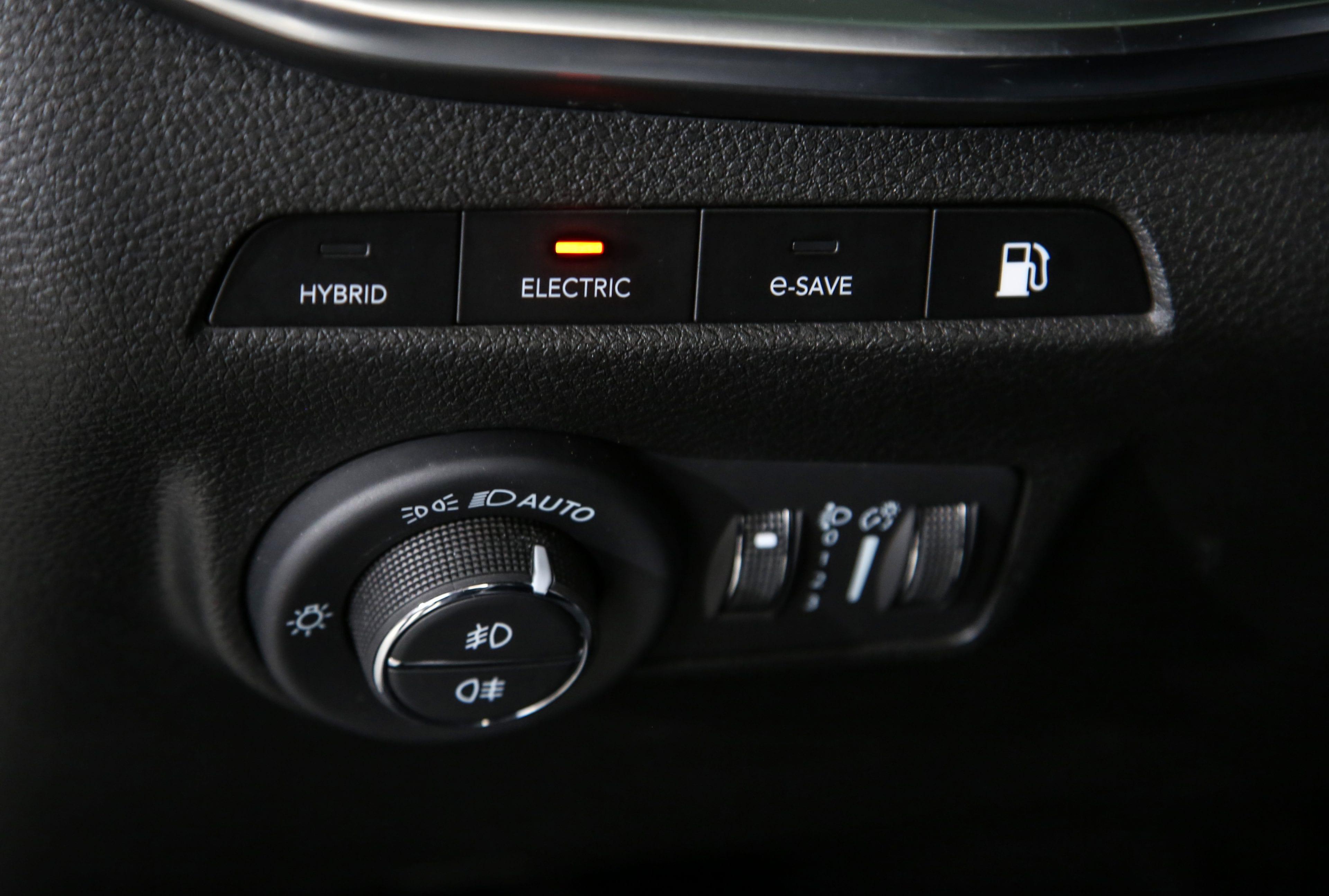 New Jeep Compass - rijmodi details