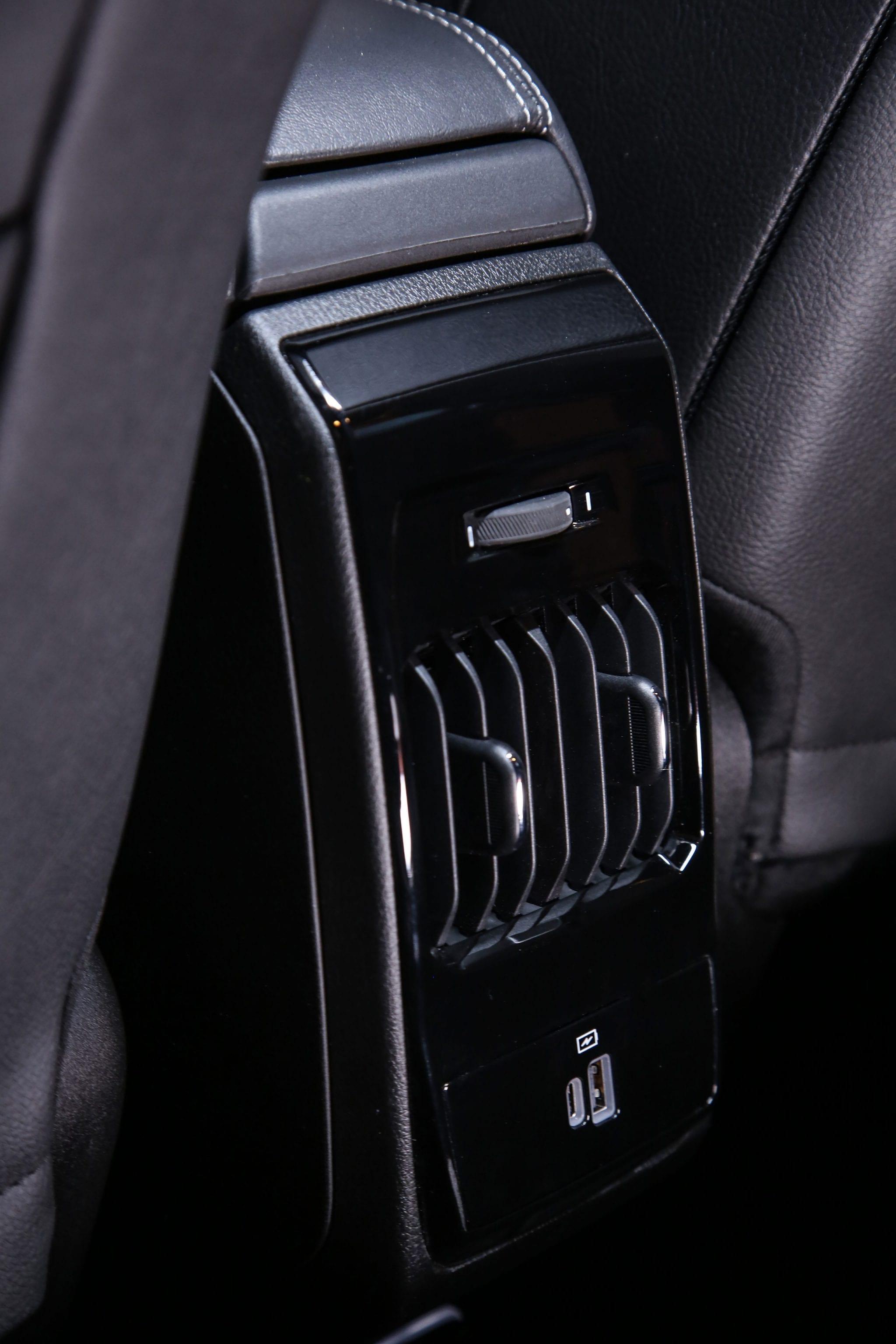 New Jeep Compass - ventilatie details