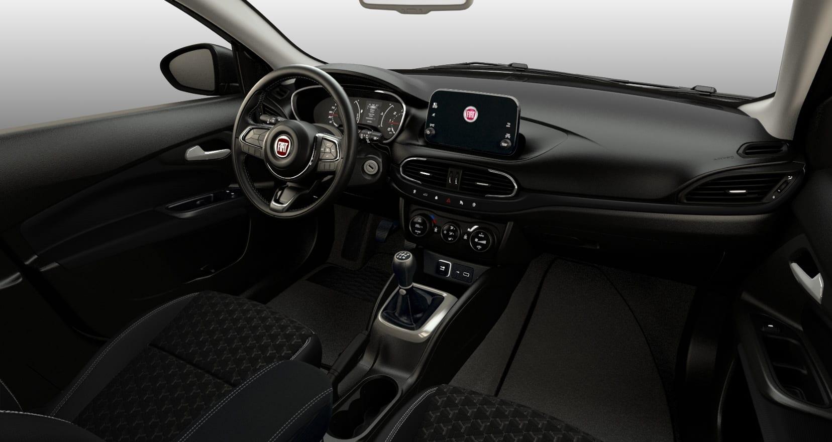 Fiat Tipo City Cross - dashboard