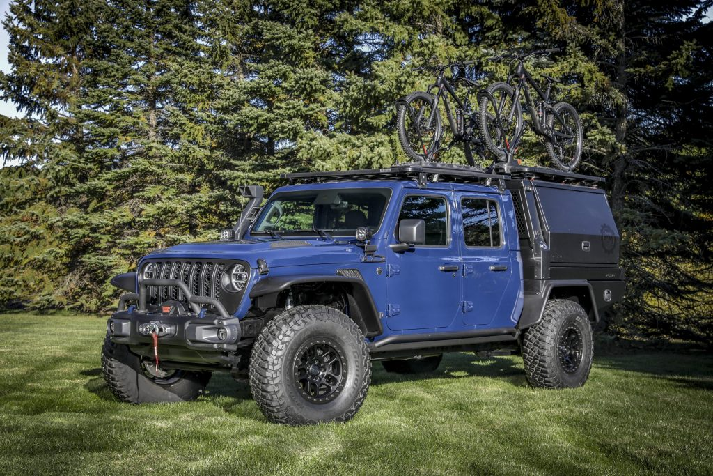 the Jeep Gladiator Top Dog Concept.