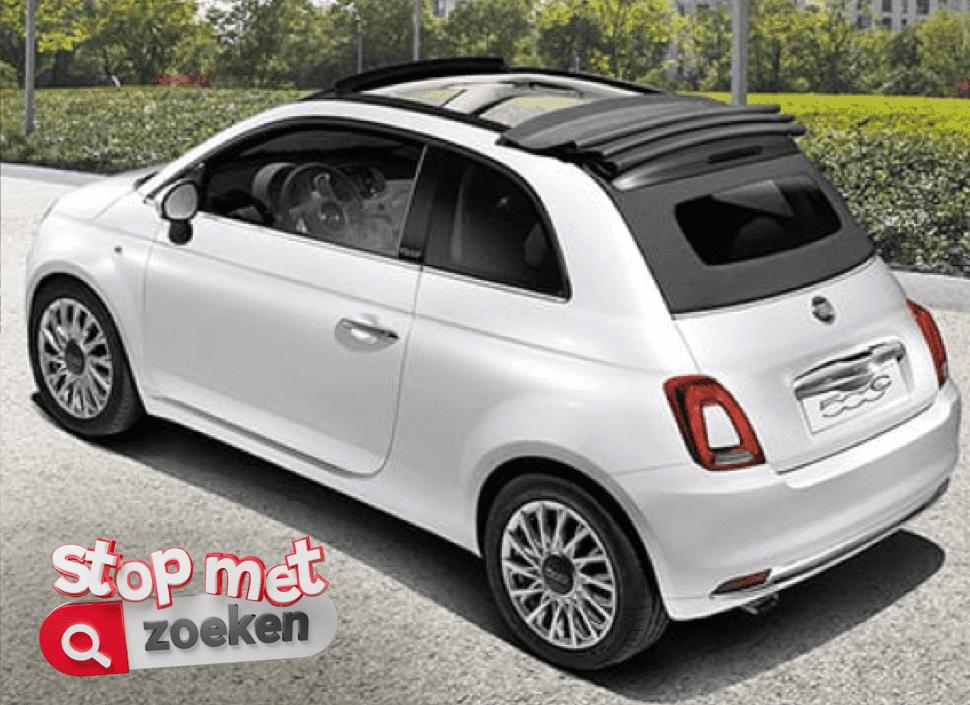 Fiat model 500C lounge