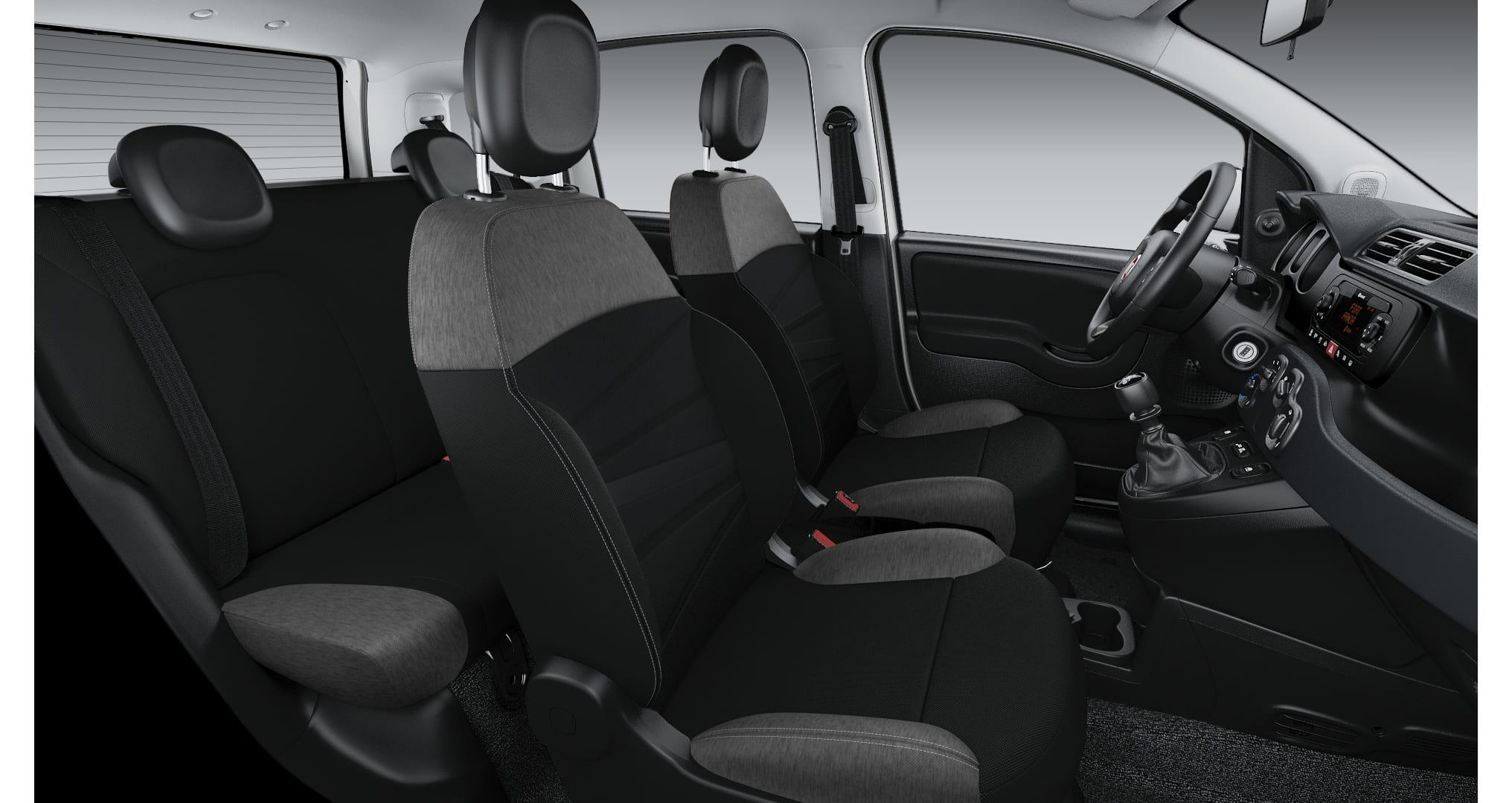 Fiat Panda Hybrid City Life - interieur stoelen