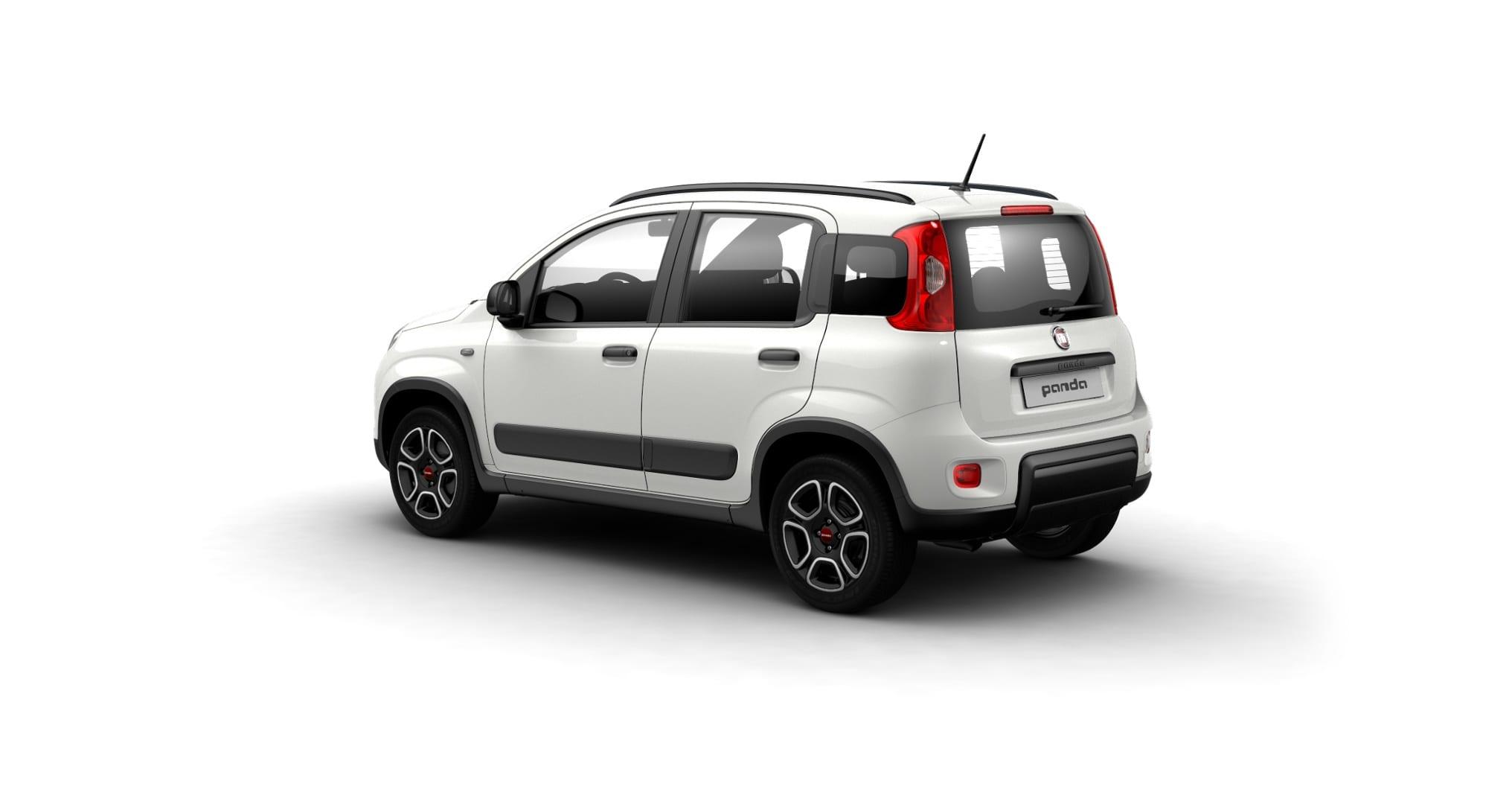 Fiat Panda Hybrid City Life - schuin achterkant