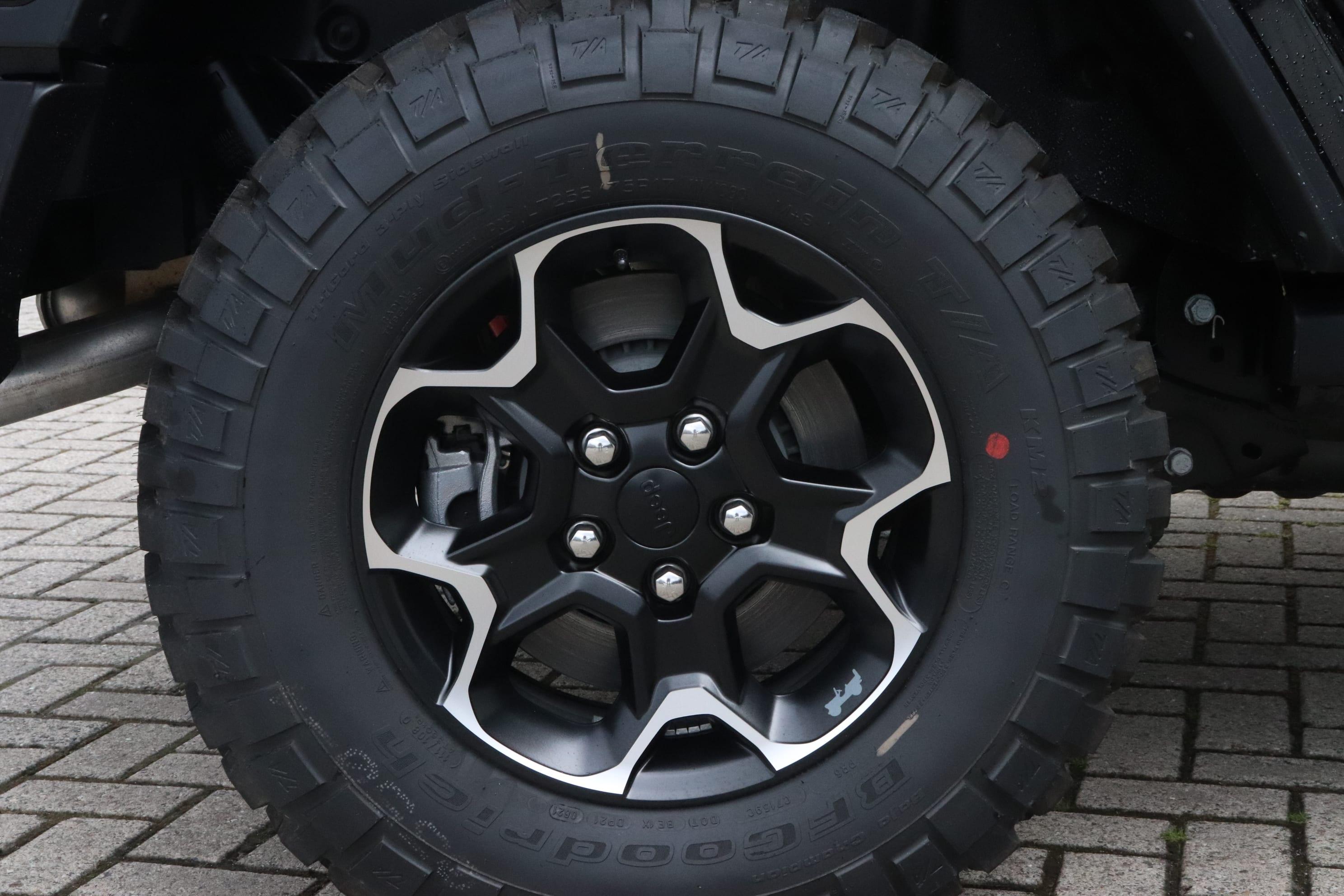 Jeep Wrangler Rubicon 4xe - velg