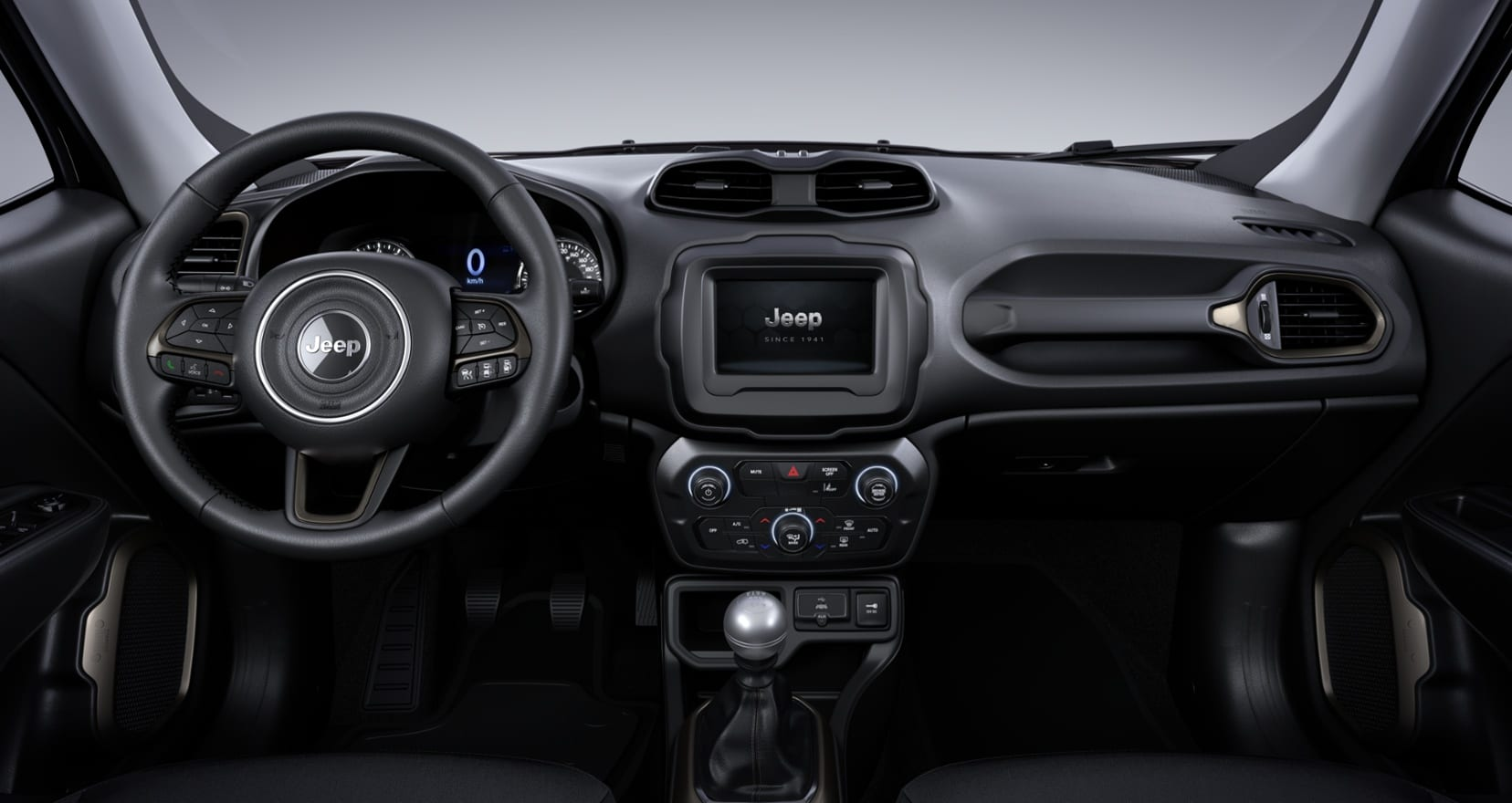 Jeep Renegade Limited - dashboard