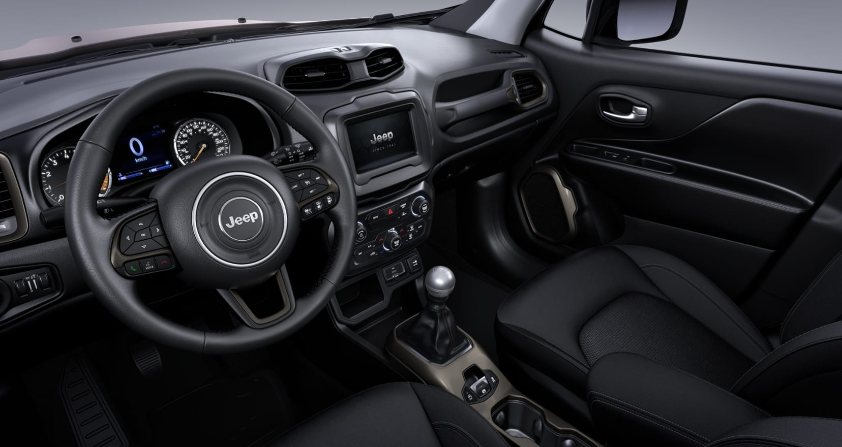 Jeep Renegade Limited - interieur 1