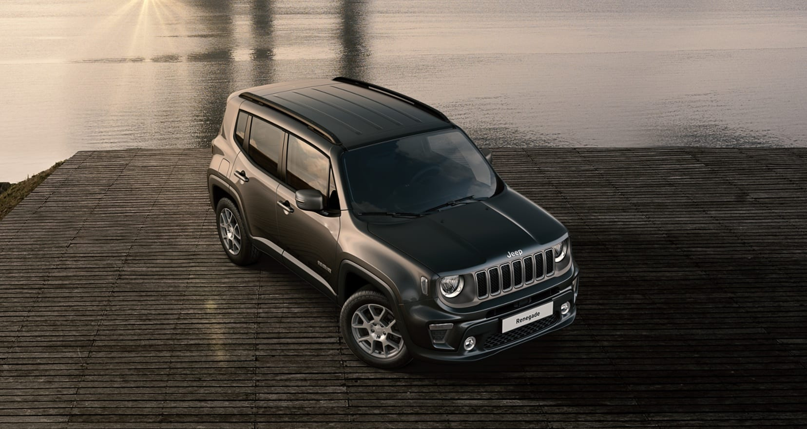 Jeep Renegade Limited - schuin bovenkant