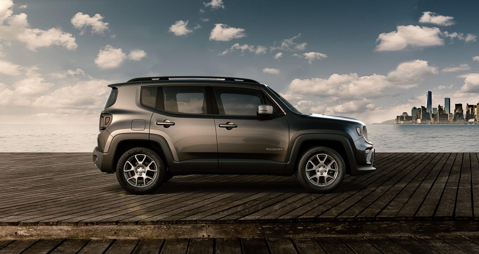 Jeep Renegade Limited - zijkant