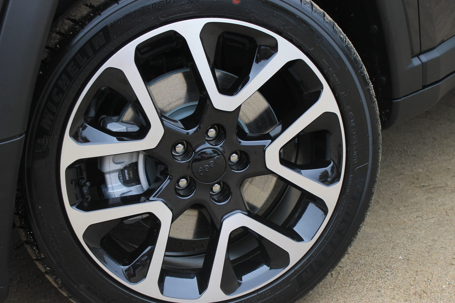 Jeep Compass 4xe plug in hybrid Limited - velg